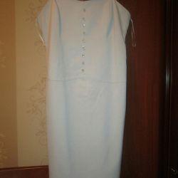 Платье на бретелях р.44-46