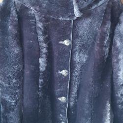 Fur coat from sheared muton. P 56 58