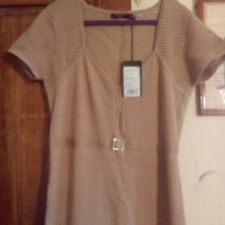 New beige dress 46-48