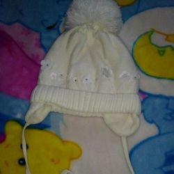 Girl's cap on fleece