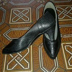 Shoes nat leather