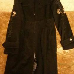 Coat Raslov 46 size cashmere