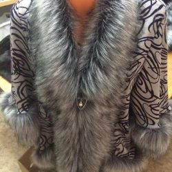Fur coat size 44-60