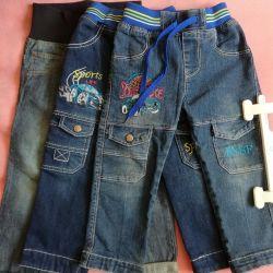 Jeans pentru un băiat de 92 de ani