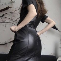leather dress new oasis