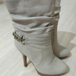 Boots 36 white and gray