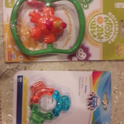 Rattle and teether