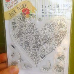 Σφραγίδα σιλικόνης εκτυπώσιμη καρτ ποστάλ δημιουργικότητα