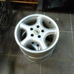 2 alloy wheels for 15