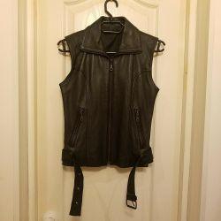 Vest, female, nat.kozha. Size 40-42.