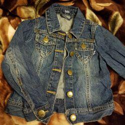 çocuk kot ceket b.b.