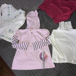 Package of blouses for 110 cm