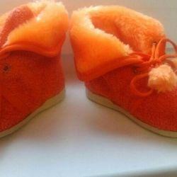 Новые домашние ботиночки