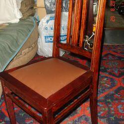 Sandalye antika,