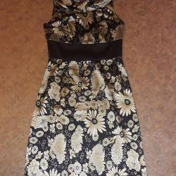Satin dress 42 sizes
