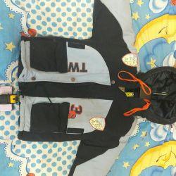 Детская куртка-зима рост 110-116см