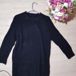 Knitted tunic sweater 42-46
