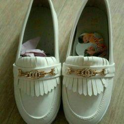 New shoes, Jaguar, 18,5cm. Whites