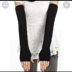 Sleeves knitted new