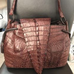 Bag made of crocodile