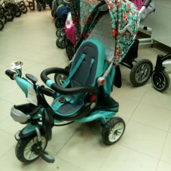Tricycle with handle