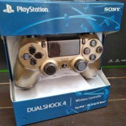 PlayStation 4 / Gamepad de aur