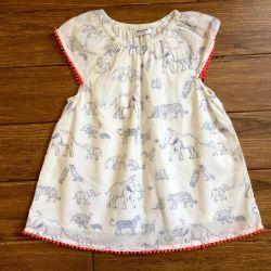 Платье после купания/платье/туника Baby Boden ориг