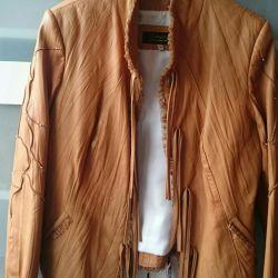 LEATHER, jacket ITALY