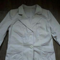 Beyaz ceket 52 numara