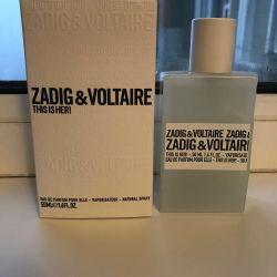 Bayan parfümleri Zadig 50 ml