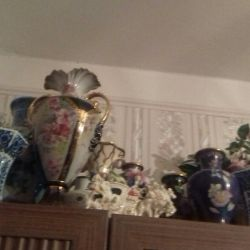 antique porcelain vases