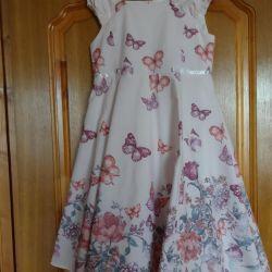 κομψό φόρεμα, ύψος 134-140 cm