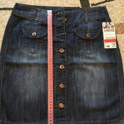 Denim skirt brand Yessica (Germany) new!