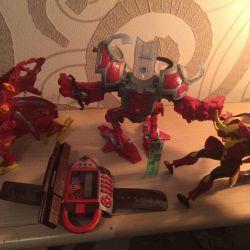 Bakugan robots