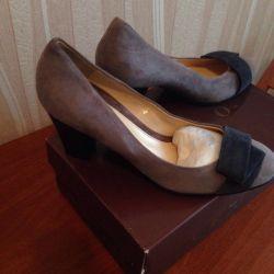 Παπούτσια ARGO φυσικό σουέτ 39τ