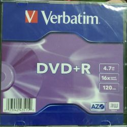DVD-R in the case