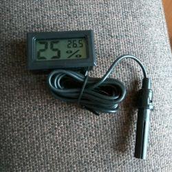 Termometru electronic + higrometru + senzor la distanță