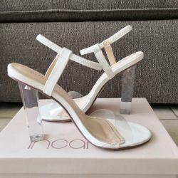 Încălțăminte albă elegantă