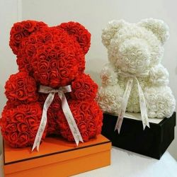 Иш Bear from 3D roses!
