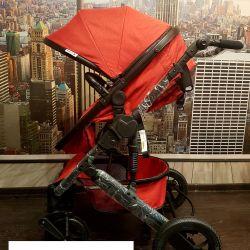 Bebek arabası 2v1 yeni ısındı