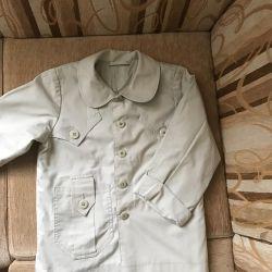 Демисезонная куртка на рост 98 +