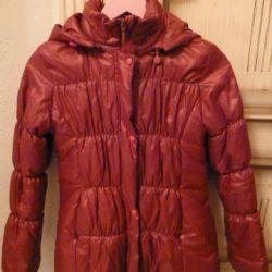 Jacket pentru fata este la modă și caldă