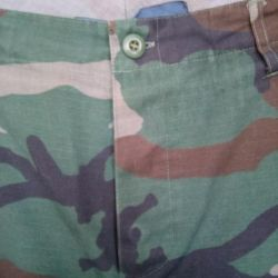 teenage camouflage trousers