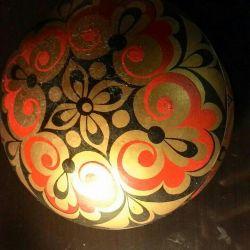 Κουτί του Khokhloma ussr