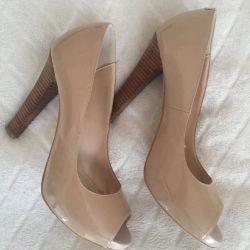 Παπούτσια Lac. Μπεζ γυμνό. Rr 39