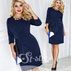 синє плаття 52-54