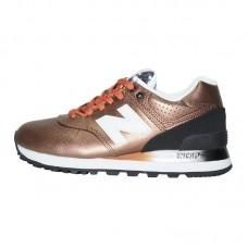 Sneakers New Balance 574 Leather Brown Black