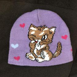 Children's autumn hat