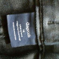 9-11 yaş arası kızlar için Gapkids jean pantolon