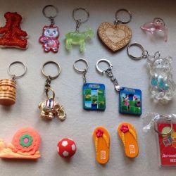 δαχτυλίδια κλειδιών (MUCH) γόμα γόμα
